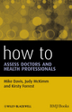 How to Assess Doctors and Health Professionals (144433056X) cover image
