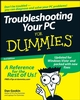 Troubleshooting Your PC For Dummies, 3rd Edition (0470230770) cover image