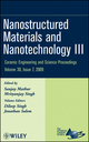 Nanostructured Materials and Nanotechnology III, Volume 30, Issue 7 (0470457570) cover image