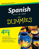 Spanish All-in-One For Dummies (0470555270) cover image
