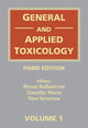 General and Applied Toxicology, 6 Volume Set, 3rd Edition (0470723270) cover image