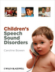 Children's Speech Sound Disorders (0470745770) cover image