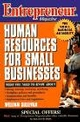 Entrepreneur Magazine: Human Resources for Small Businesses (0471149470) cover image