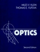Optics, 2nd Edition (0471872970) cover image