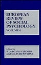 European Review of Social Psychology, Volume 6 (0471957070) cover image