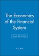 The Economics of the Financial System, 2nd Edition (0631181970) cover image