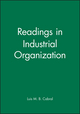 Readings in Industrial Organization (0631216170) cover image