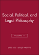 Social, Political, and Legal Philosophy, Volume 11 (0631230270) cover image