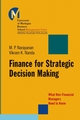 Finance for Strategic Decision-Making: What Non-Financial Managers Need to Know (0787965170) cover image