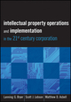 Intellectual Property Operations and Implementation in the 21st Century Corporation (1118075870) cover image