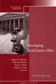 Developing Social Justice Allies: New Directions for Student Services, Number 110 (1118208870) cover image