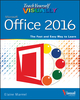 Teach Yourself VISUALLY Office 2016 (1119074770) cover image