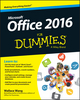 Office 2016 For Dummies (1119077370) cover image