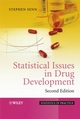 Statistical Issues in Drug Development, 2nd Edition (0470018771) cover image