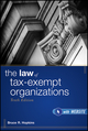 The Law of Tax-Exempt Organizations, 10th Edition (0470602171) cover image