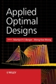 Applied Optimal Designs (0470856971) cover image