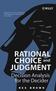 Rational Choice and Judgment: Decision Analysis for the Decider (0471202371) cover image