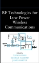 RF Technologies for Low-Power Wireless Communications (0471382671) cover image