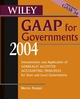 Wiley GAAP for Governments 2004: Interpretation and Application of Generally Accepted Accounting Principles for State and Local Governments (0471678171) cover image