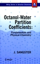 Octanol-Water Partition Coefficients: Fundamentals and Physical Chemistry (0471973971) cover image
