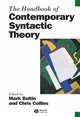The Handbook of Contemporary Syntactic Theory (0631205071) cover image