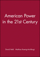 American Power in the 21st Century (0745633471) cover image