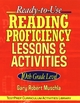 Ready-to-Use Reading Proficiency Lessons and Activities: 10th Grade Level (0787965871) cover image