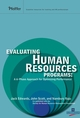 Evaluating Human Resources Programs: A 6-Phase Approach for Optimizing Performance (0787994871) cover image