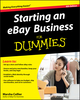 Starting an eBay Business For Dummies, 4th Edition (1118004671) cover image