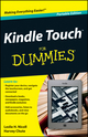 Kindle Touch For Dummies Portable Edition (1118290771) cover image