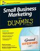 Small Business Marketing For Dummies (1118730771) cover image