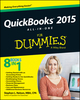 QuickBooks 2015 All-in-One For Dummies (1118920171) cover image