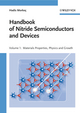 Handbook of Nitride Semiconductors and Devices, Volume 1, Materials Properties, Physics and Growth (3527408371) cover image