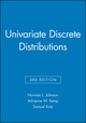 Univariate Discrete Distributions, 3e Set (0470383372) cover image