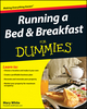 Running a Bed and Breakfast For Dummies (0470504072) cover image
