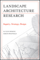 Landscape Architectural Research: Inquiry, Strategy, Design (0470564172) cover image