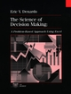 The Science of Decision Making: A Problem-Based Approach Using Excel (0471318272) cover image
