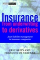 Insurance: From Underwriting to Derivatives: Asset Liability Management in Insurance Companies (0471492272) cover image