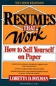Resumes That Work: How to Sell Yourself on Paper, 2nd Edition (0471577472) cover image