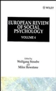 European Review of Social Psychology, Volume 4 (0471939072) cover image