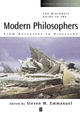 The Blackwell Guide to the Modern Philosophers: From Descartes to Nietzsche (0631210172) cover image