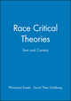 Race Critical Theories: Text and Context (0631214372) cover image