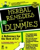 Herbal Remedies For Dummies (0764551272) cover image