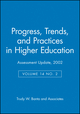 Assessment Update, Progress, Trends, and Practices in Higher Education, Volume 14, No. 2, 2002 (0787962872) cover image