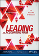 Leading An Accounting Firm: The Pyramid of Success (0870519972) cover image