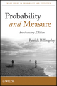 Probability and Measure, Anniversary Edition (1118122372) cover image