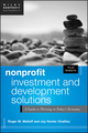 Nonprofit Investment and Development Solutions: A Guide to Thriving in Today's Economy, + Website (1118304772) cover image