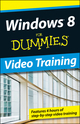 Windows 8 For Dummies Online Video Training (24 month subscription) (1118575172) cover image