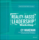 Reality-Based Leadership Workshop Facilitator's Guide Set (1118599772) cover image