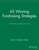 63 Winning Fundraising Strategies: Terrific Ideas for Meeting Your Goal (1118690672) cover image